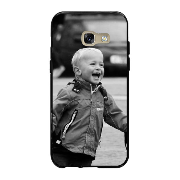 Samsung Galaxy A3 (2017) Soft case (back printed, black)