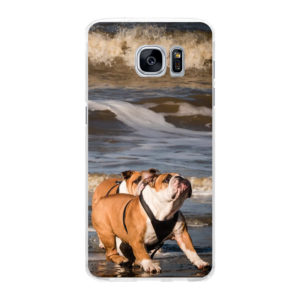 Samsung Galaxy S7 Edge Hard case (back printed, transparent)