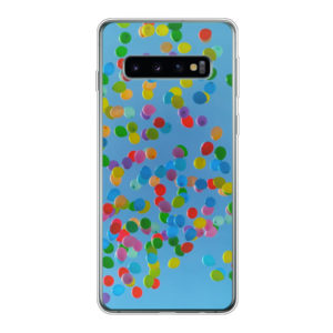 Samsung Galaxy S10 Soft case (back printed, transparent)