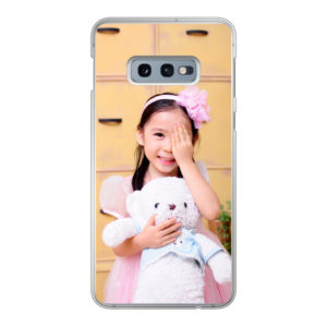Samsung Galaxy S10e Hard case (back printed, transparent)