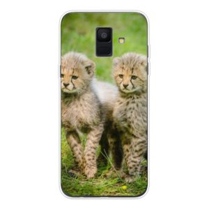 Samsung Galaxy A6 (2018) Soft case (back printed, transparent)