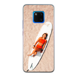 Huawei Mate 20 Pro Soft case (back printed, transparent)