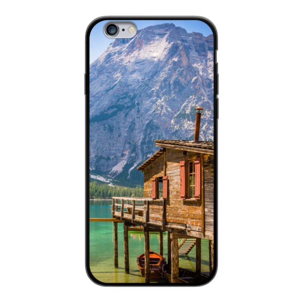 Apple iPhone 6/6s Soft case (back printed, black)