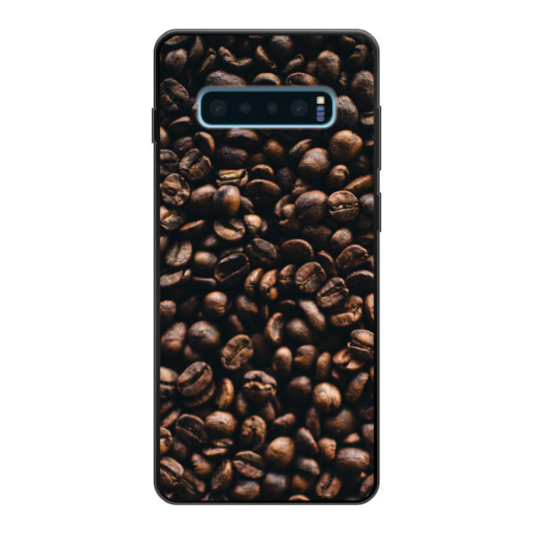 Samsung Galaxy S10 Plus Soft case (back printed, black)