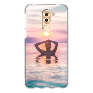 Honor 6X Soft case (back printed, transparent)