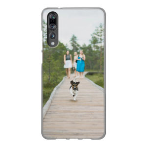 Huawei P20 Soft case (back printed, transparent)