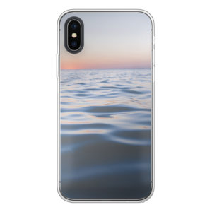 Apple iPhone X/Xs Soft case (back printed, transparent)