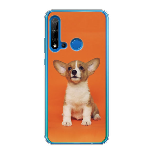 Huawei P20 Lite (2019) Soft case (back printed, transparent)