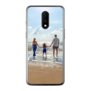 OnePlus 7 Soft case (back printed, transparent)