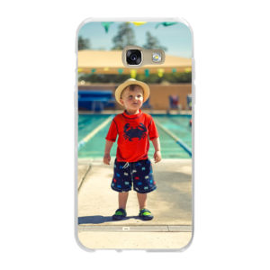 Samsung Galaxy A3 (2017) Soft case (back printed, transparent)