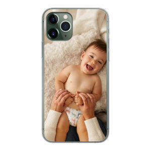 Apple iPhone 11 Pro Soft case (back printed, transparent)