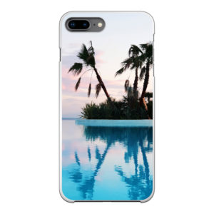 Apple iPhone 7/8 Plus Hard case (back printed, white)