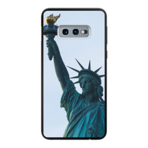 Samsung Galaxy S10e Soft case (back printed, black)