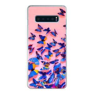 Samsung Galaxy S10 Plus Hard case (back printed, transparent)