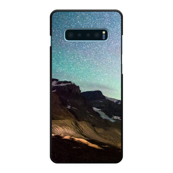 Samsung Galaxy S10 Plus Hard case (back printed, black)