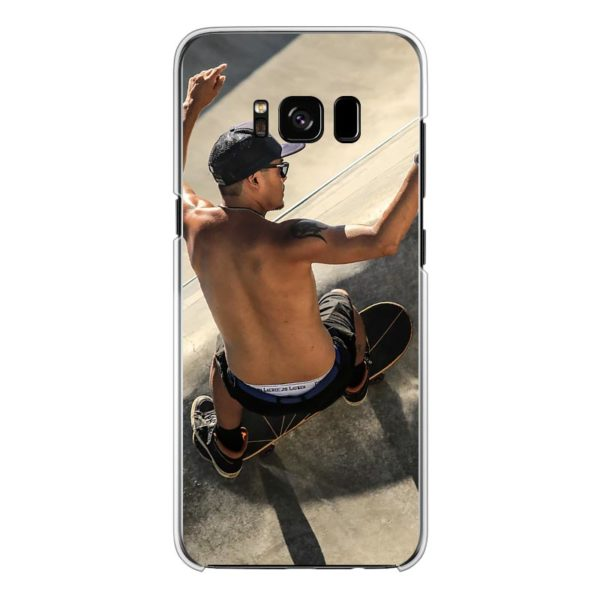 Samsung Galaxy S8 Hard case (back printed, transparent)