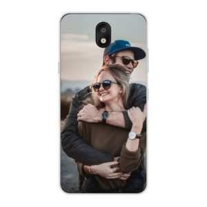 LG K30 (2019) Soft case (back printed, transparent)