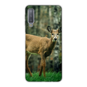 Samsung Galaxy A7 (2018) Soft case (back printed, transparent)