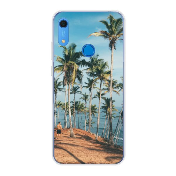 Huawei Y6s Soft case (back printed, transparent)