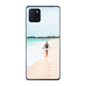Samsung Galaxy Note 10 Lite Soft case (back printed, transparent)