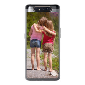 Samsung Galaxy A80/A90 Soft case (back printed, transparent)
