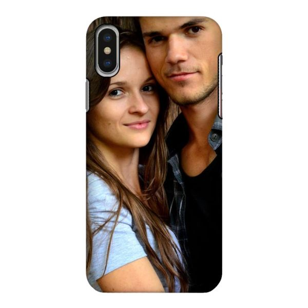 Apple iPhone X/Xs Tough case (fully printed, black)