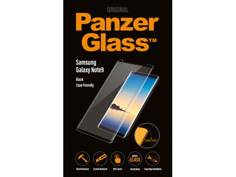 PanzerGlass Samsung Galaxy Note 9 - Black - Case Friendly
