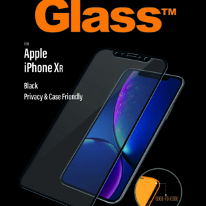 PanzerGlass Apple iPhone Xr - Black - Case friendly