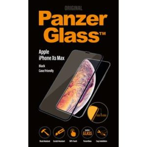 PanzerGlass Apple iPhone Xs Max - Black - Case friendly