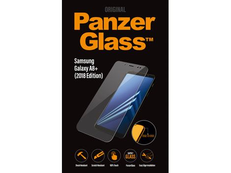 PanzerGlass Samsung Galaxy A8 Plus (2018) - Clear