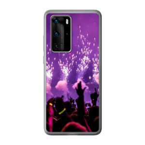 Huawei P40 Pro soft case (back printed, transparent)