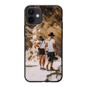 Apple iPhone 12 mini Soft case (back printed, black)