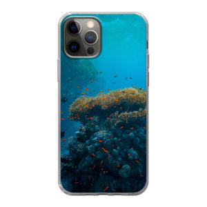 Apple iPhone 12 / iPhone 12 Pro Soft case (back printed, transparent)