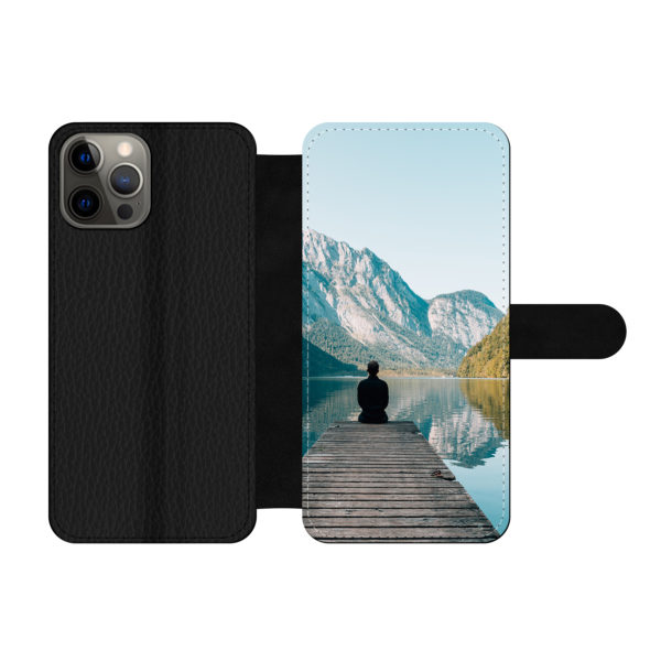 Apple iPhone 12 Pro Max Wallet case (front printed)
