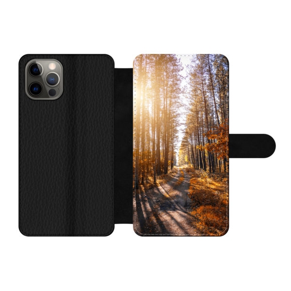 Apple iPhone 12 / iPhone 12 Pro Wallet case (front printed)