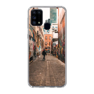 Samsung Galaxy M31 Soft case (back printed, transparent)