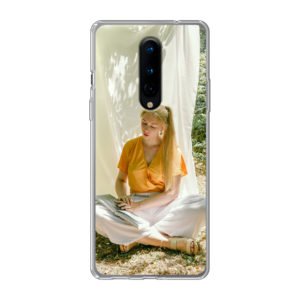 OnePlus 8 / OnePlus 8 5G Soft case (back printed, transparent)