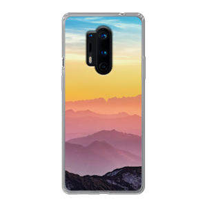 OnePlus 8 Pro Soft case (back printed, transparent)